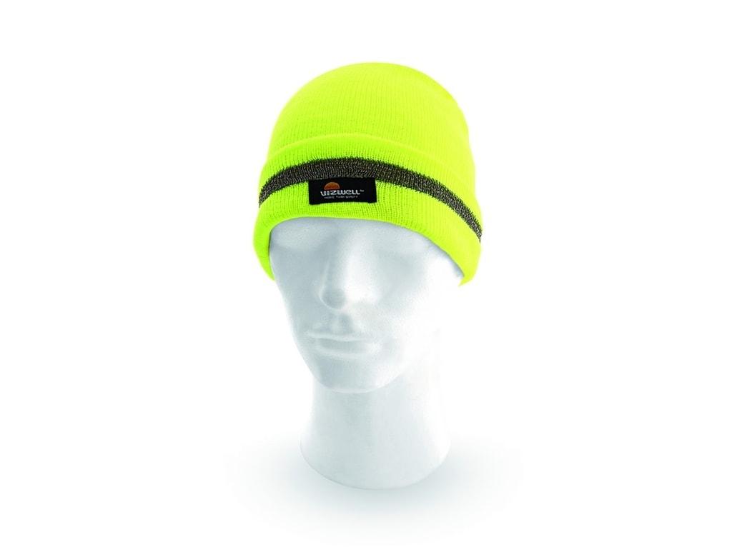 Reflexní čepice KEADY - Žlutá | uni