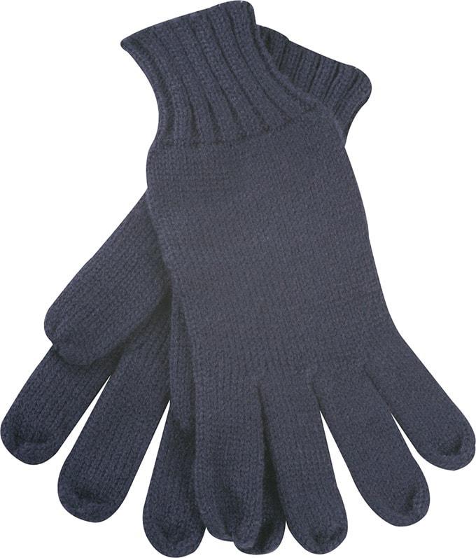 Myrtle Beach Pletené rukavice MB505 - Tmavě modrá | S/M