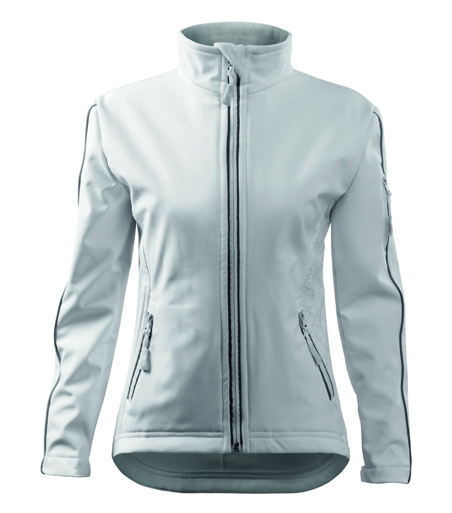 Dámská softshellová bunda Jacket - Bílá | S