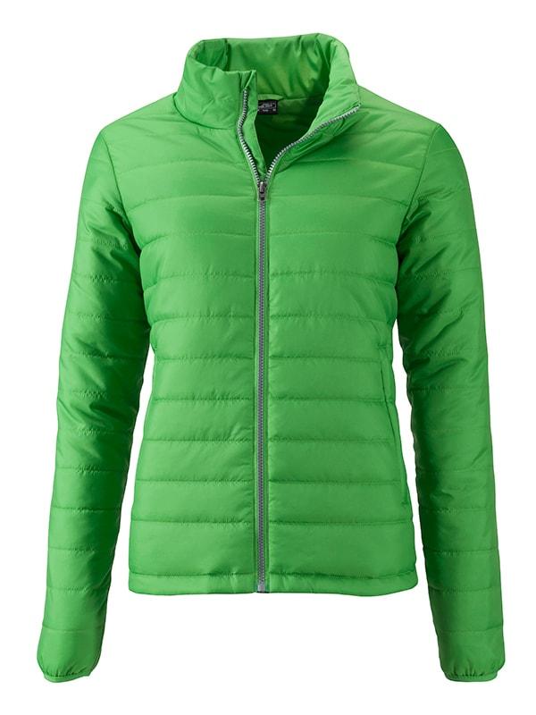 Dámská jarní bunda JN1119 - Zelená | XXL