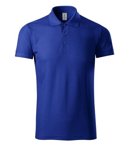 Pique pánská polokošile Joy - Královská modrá | XL