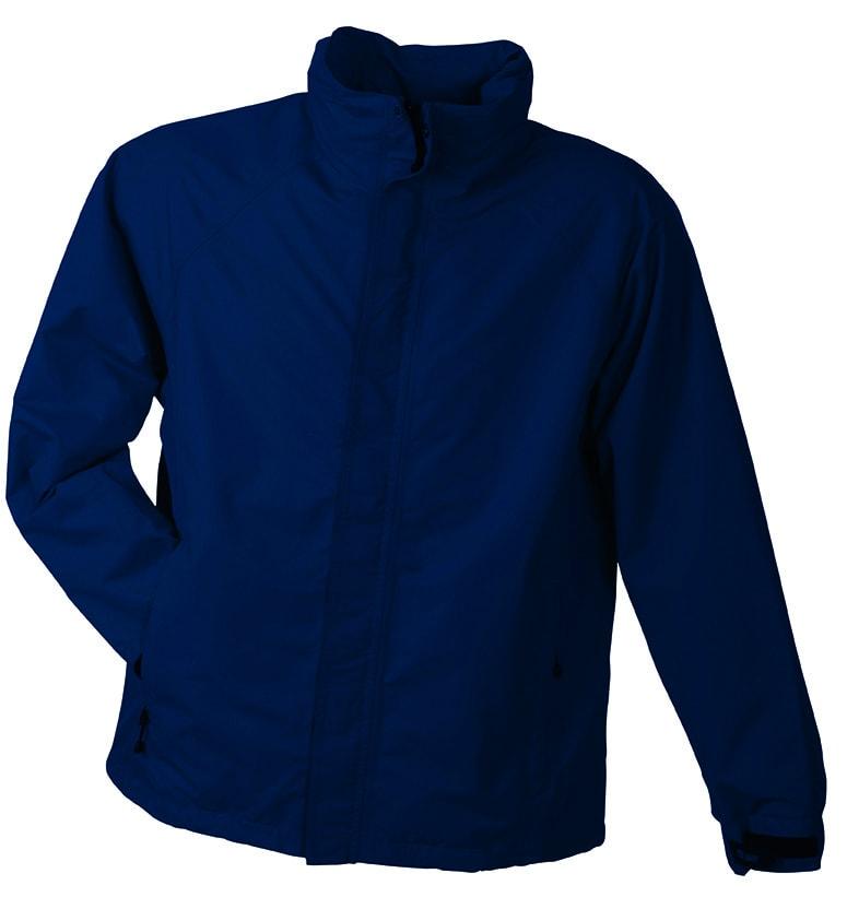 James & Nicholson Pánska outdoorová bunda JN1010 - Tmavě modrá | XXXL