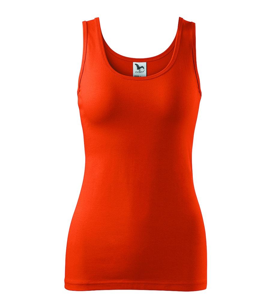 Dámské tílko - Oranžová | XL