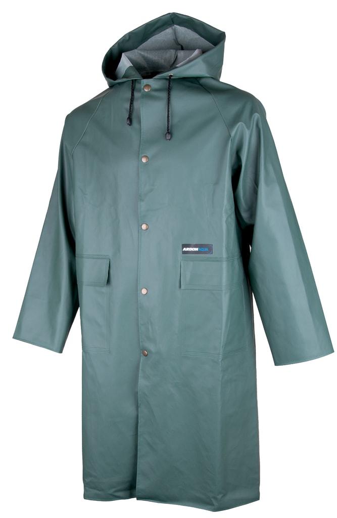 Nepromokavý plášť s kapucí Ardon Aqua - Zelená | L