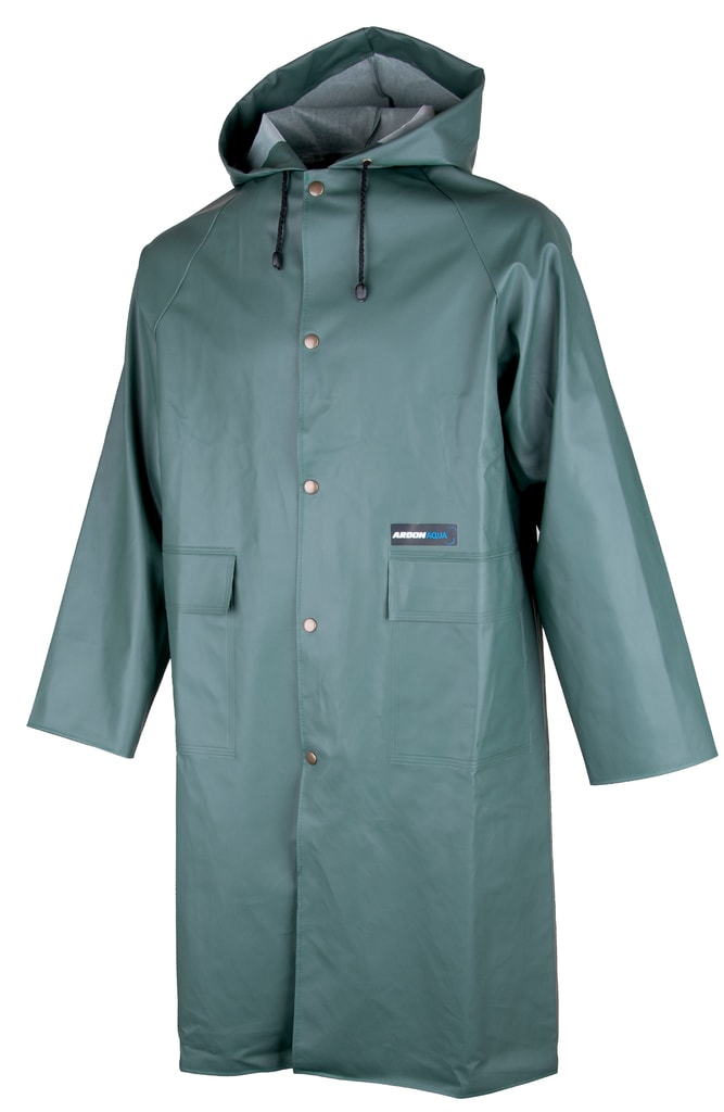 Nepromokavý plášť s kapucí Ardon Aqua - Zelená | XXXL