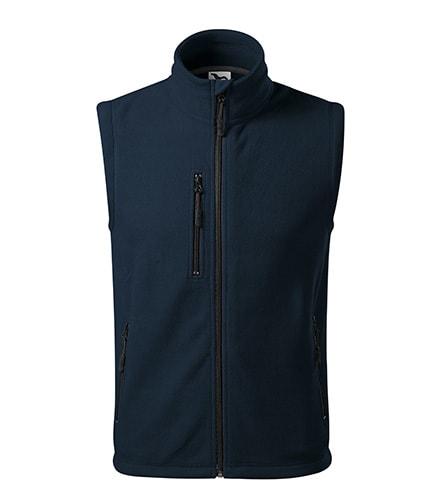 Fleecová vesta Exit - Námořní modrá   L