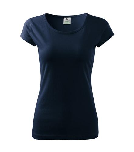 Dámské tričko Pure - Námořní modrá | XXL