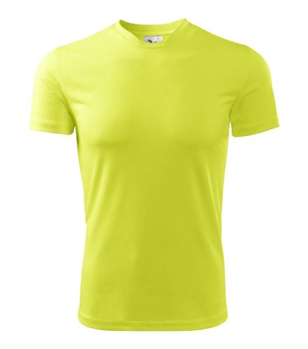 Dětské sportovní tričko Adler Fantasy - Neonově žlutá | 146 (10 let)