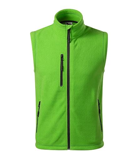 Fleecová vesta Exit - Apple green   S