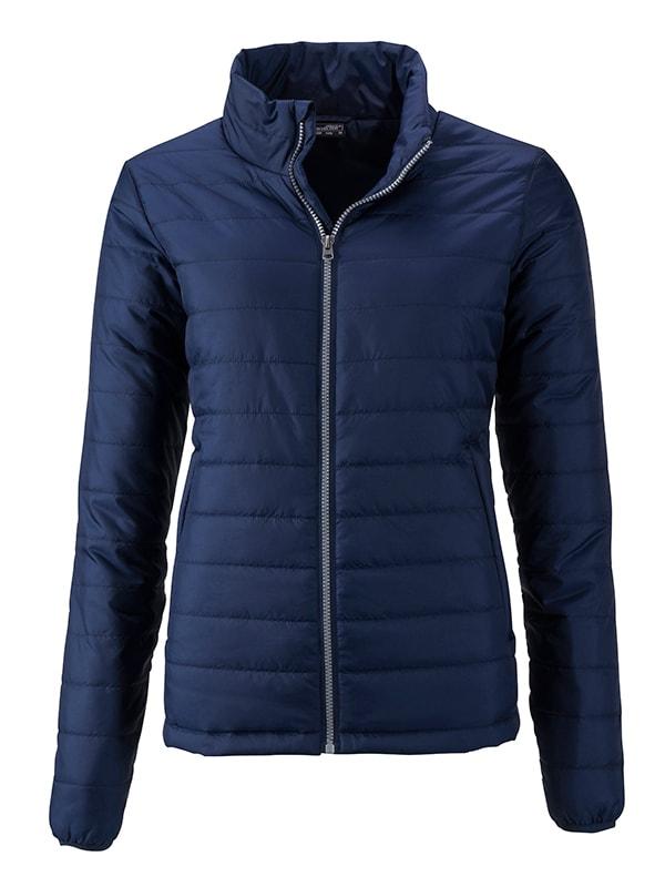 Dámská jarní bunda JN1119 - Tmavě modrá | S