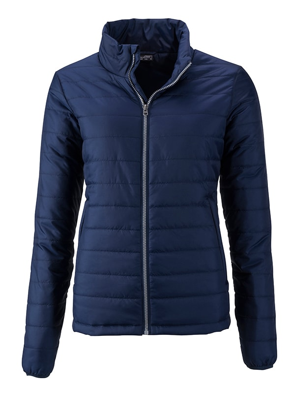 Dámská jarní bunda JN1119 - Tmavě modrá | XXL