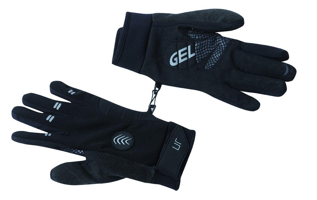 Zimní cyklistické rukavice JN335 - Černá | XL