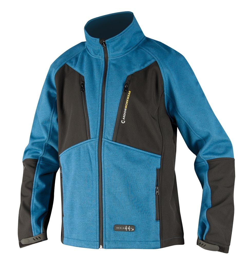 Nepromokavá pracovní bunda Oliver - Modrá | XL