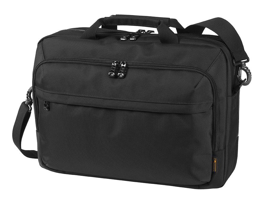 Business taška na notebook MISSION - Černá