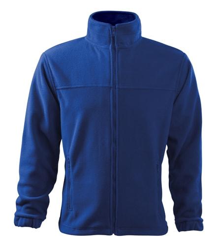 Pánská fleecová mikina Jacket - Královská modrá | XL