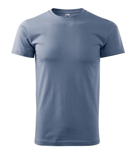 Pánské tričko HEAVY - Denim | XXXL