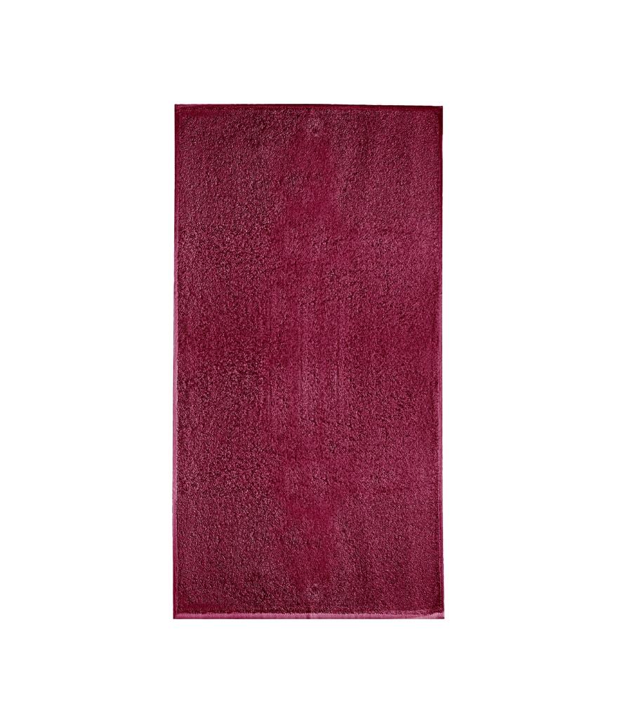 Ručník bez bordury Terry Towel - Marlboro červená | 50 x 100 cm