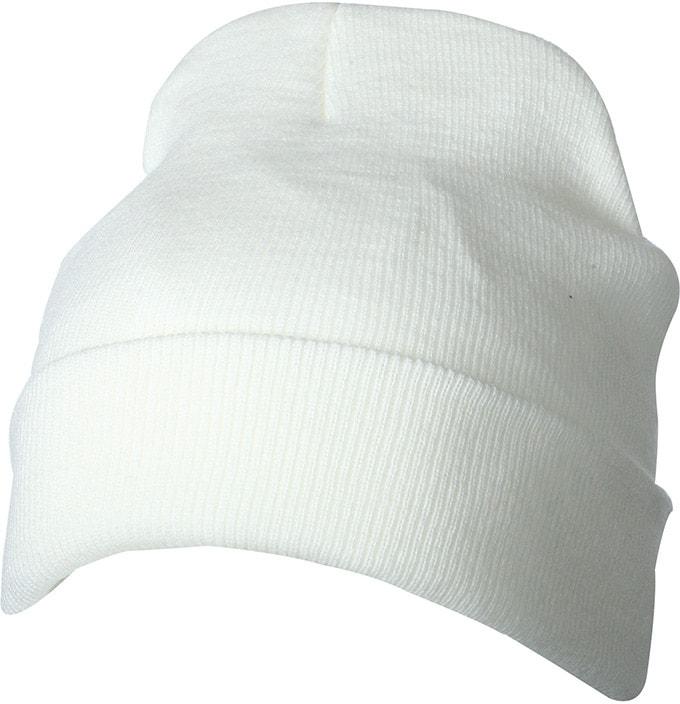 Zimní pletená čepice Thinsulate MB7551 - Šedo-bílá