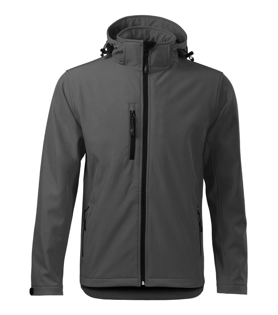 Pánská softshellová bunda Performance - Ocelově šedá | S