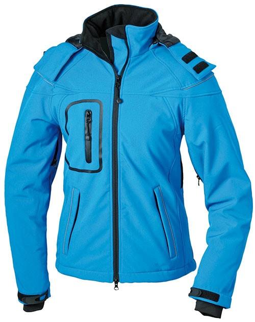 Zimní dámská softshellová bunda JN1001 - Aqua | S