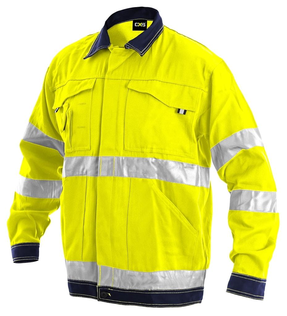 Pracovní reflexní bunda NORWICH - Žlutá | 54