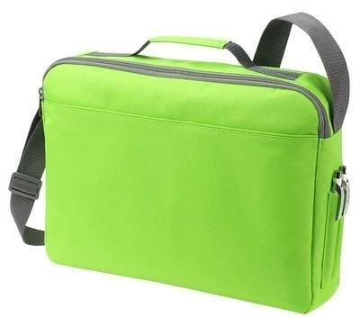 Velká taška na dokumenty BASIC - Limetkově zelená