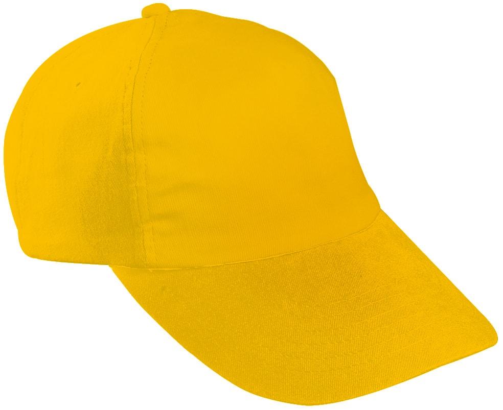 Dětská 5P kšiltovka MB7010 - Zlatě žlutá