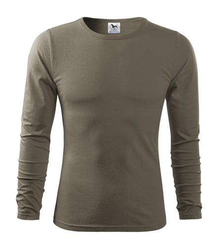 Pánské tričko s dlouhým rukávem Fit-T Long Sleeve - Army | XL