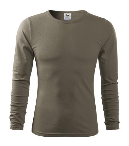 Pánské tričko s dlouhým rukávem Fit-T Long Sleeve - Army | XXL