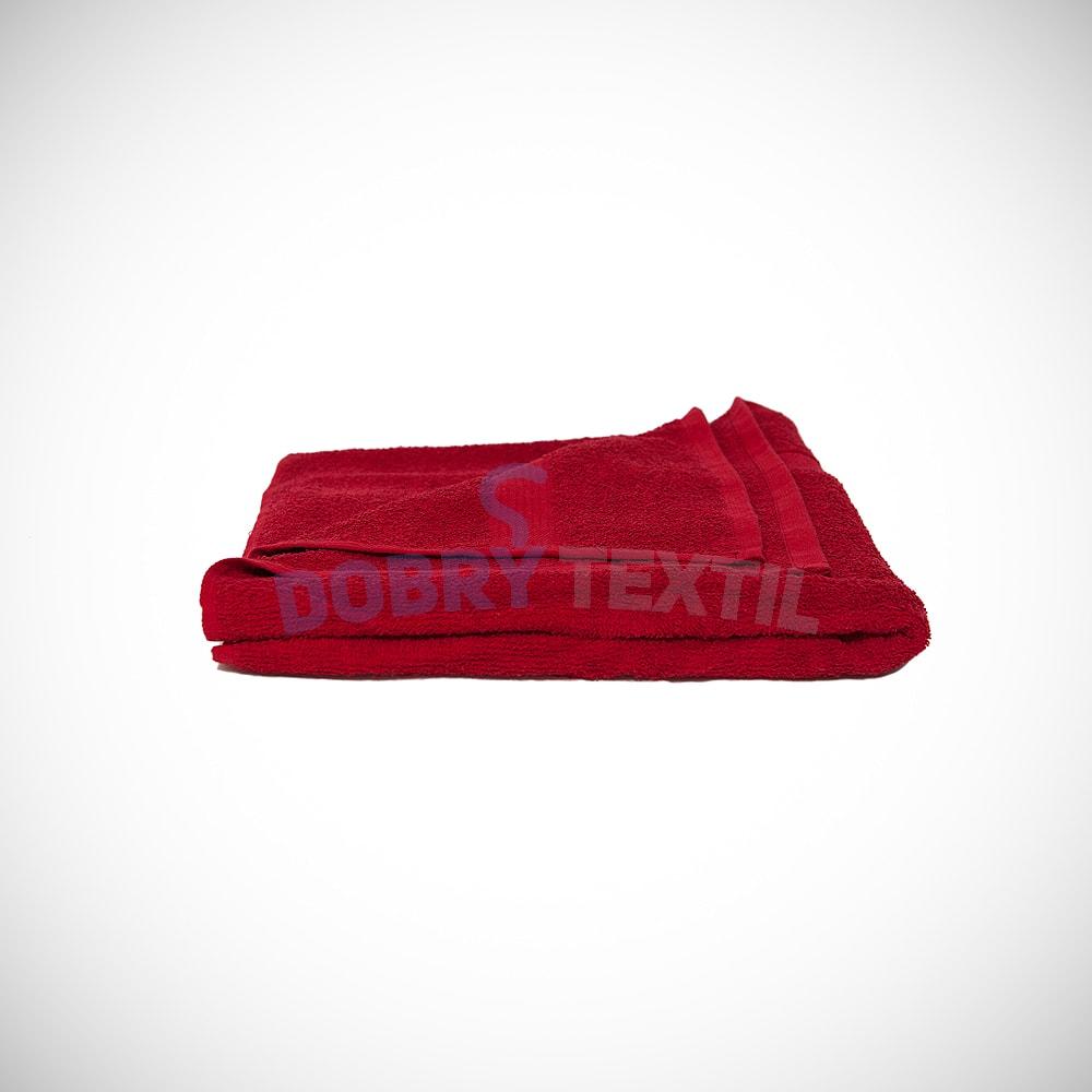 Reklamní ručník 50x100 - Červená | 50 x 100 cm