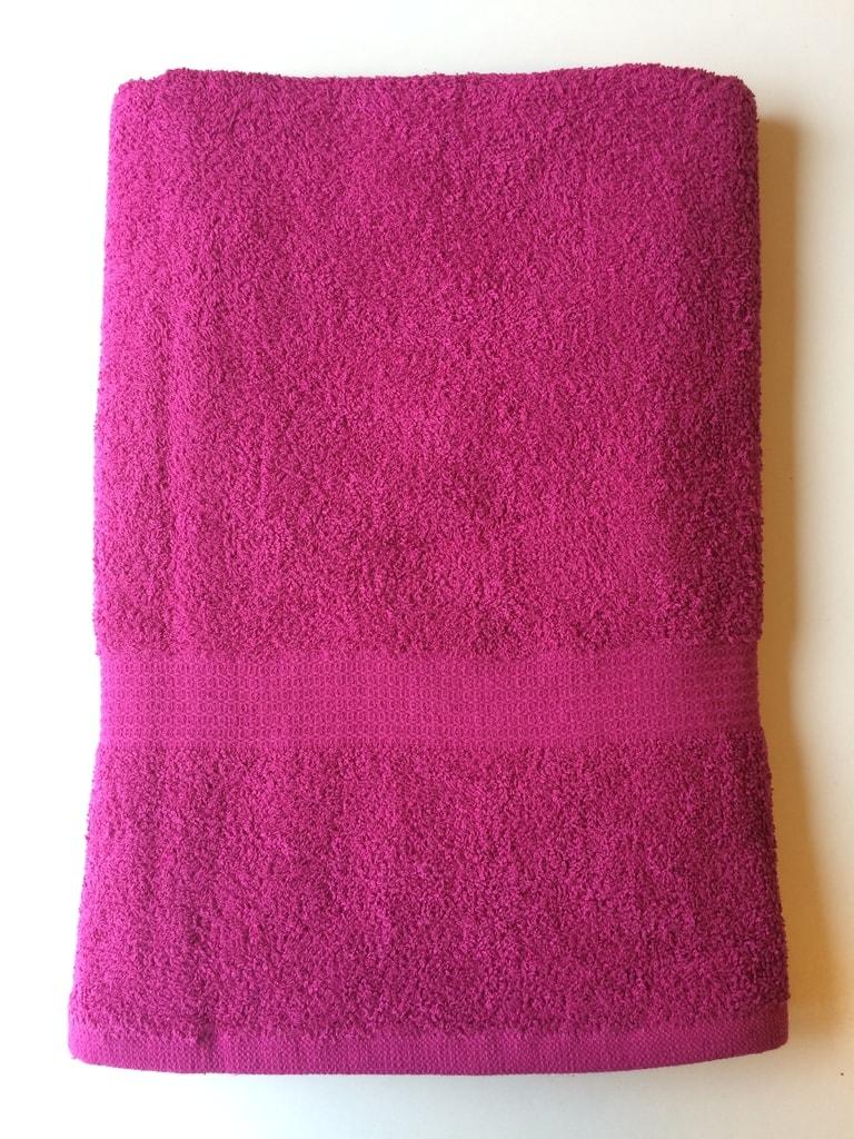 Reklamní ručník 50x100 - Fuchsiová | 50 x 100 cm