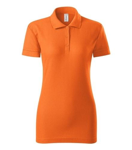 Dámská pique polokošile Joy Adler - Oranžová | L