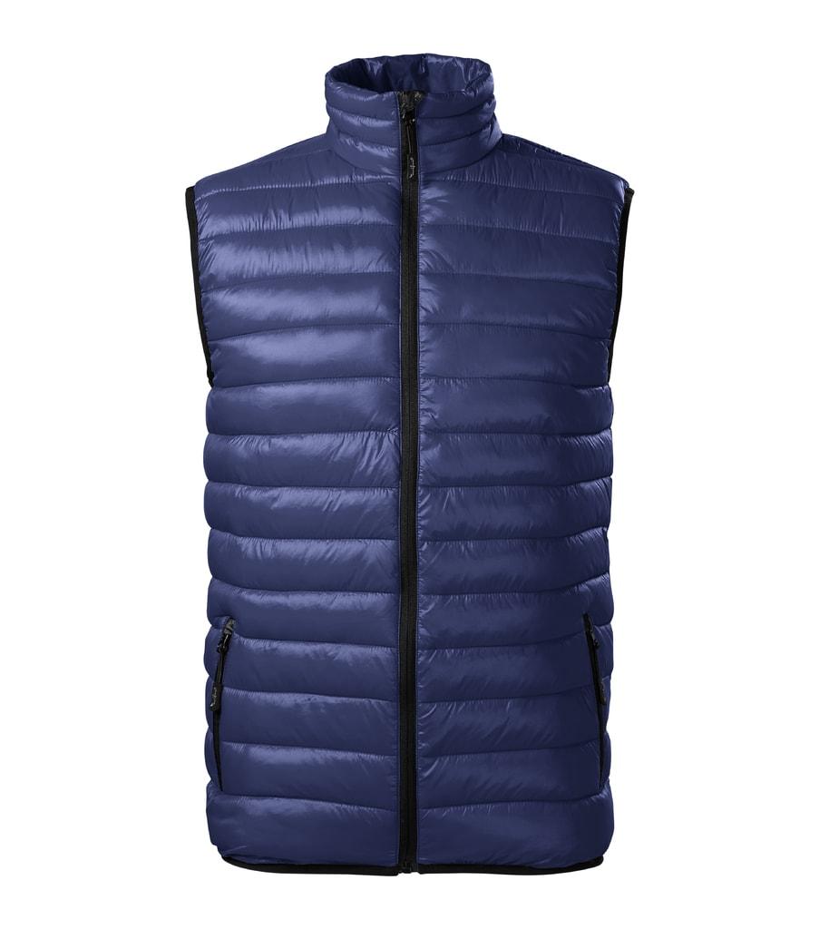 Pánská prošívaná vesta Everest - Námořní modrá | XXXL