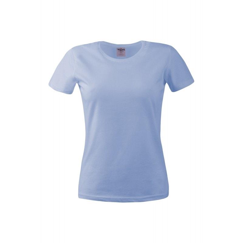 Dámské tričko ECONOMY - Světle modrá | XXL