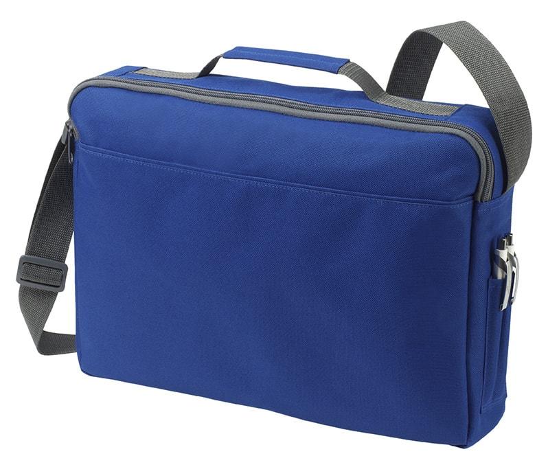 Velká taška na dokumenty BASIC - Královská modrá