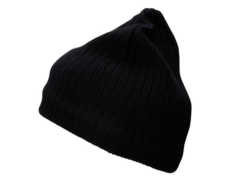 Zimní čepice MB7102 - Černá / černá