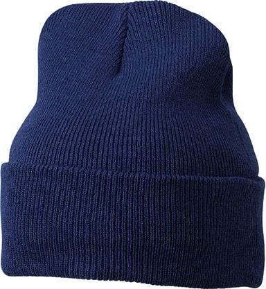 Zimní čepice Classic MB7500 - Tmavší tmavě modrá