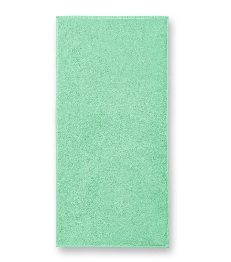 Ručník bez bordury Terry Towel - Mátová | 50 x 100 cm
