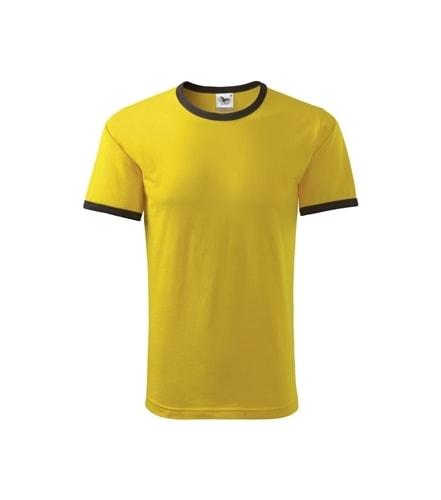 Dětské dvoubarevné tričko Adler - Žlutá | 122 (6 let)