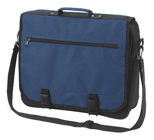Velká taška přes rameno BUSINESS - Tmavě modrá