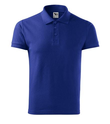 Pánská polokošile Cotton - Královská modrá | XL