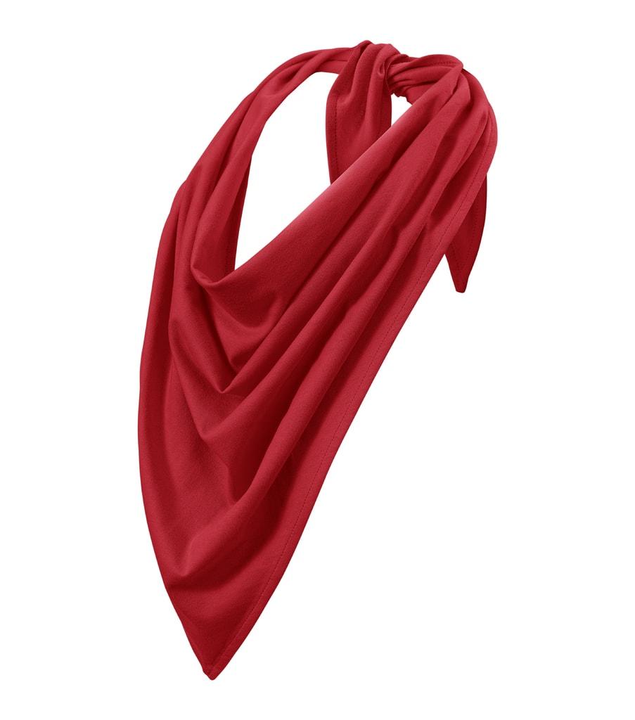 Bavlněný šátek Fancy Adler - Červená | uni