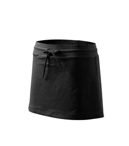 Dámská sportovní sukně - Černá | S