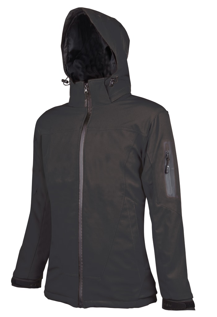 Dámská softshellová bunda Anima - Černá | XXXL