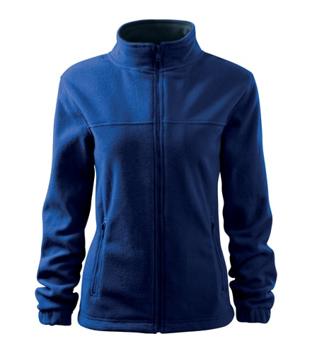 Dámská fleecová mikina Jacket - Královská modrá | M