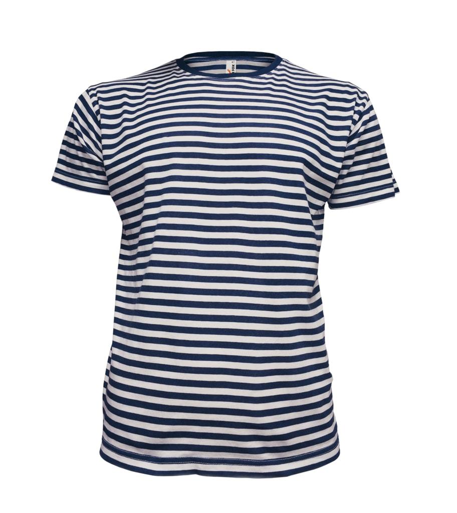 Pánské námořnické tričko - Tmavě modrá | L