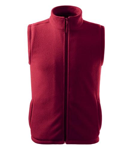 Fleecová vesta Adler - Marlboro červená | S