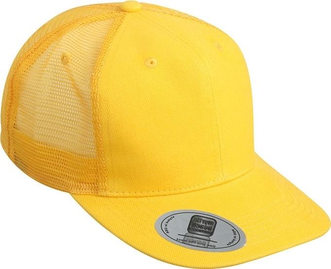 Kšiltovka s rovným kšiltem MB6509 - Zlatě žlutá | uni