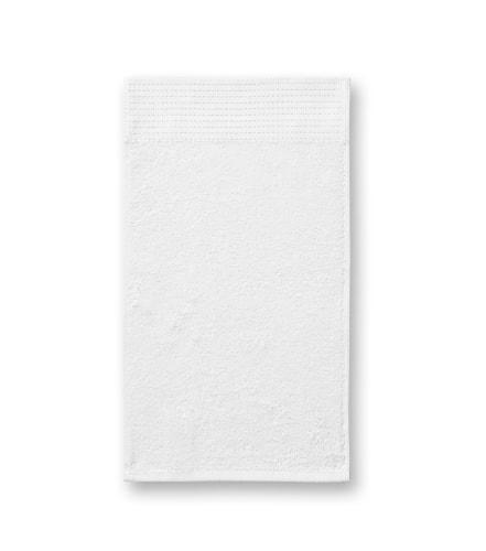 Ručník Bamboo Golf Towel - Bílá | 30 x 50 cm