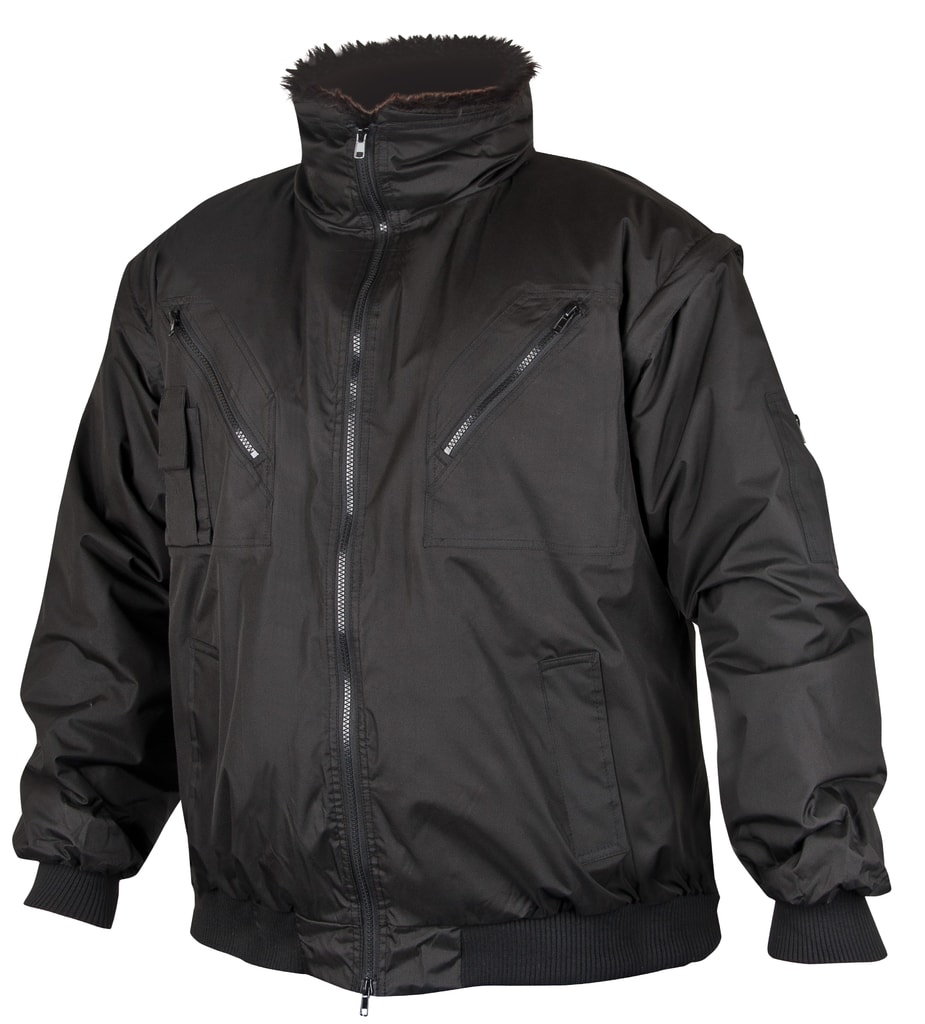 Zimní pracovní bunda Howard - Černá | S